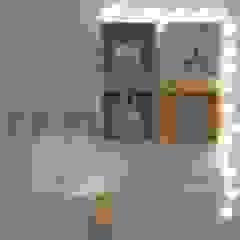 Projeto Quarto Bebê por Studio G - Arquitetura e Design Moderno Derivados de madeira Transparente
