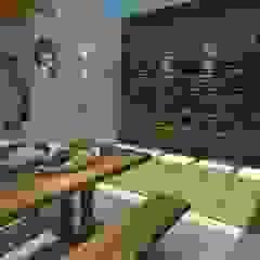 por Studio G - Arquitetura e Design Rústico Madeira maciça Multicolor