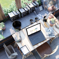 บ้านนอก  โดย BSG Ingeniería Arquitectura y Construcción, ชนบทฝรั่ง