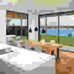 ECO architecten Modern Kitchen