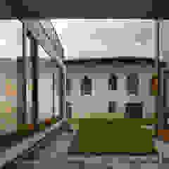 The Courtyard House Casa rurale di FTA Filippo Taidelli Architetto Rurale