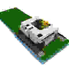 Oleh Rr+a bureau de arquitectos - La Plata Modern Besi/Baja