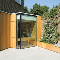 Belsize Lane de IQ Glass UK Moderno Vidrio
