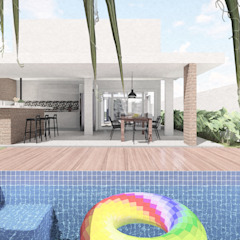 by ALESSANDRA NAHAS arquitetura Eclectic