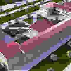 인더스트리얼 스타일 학교 by PRODİJİ DİZAYN 인더스트리얼