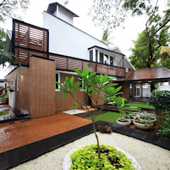 por Kembhavi Architecture Foundation Moderno