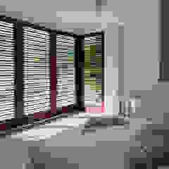 NOAH Proyectos SAS ห้องนอน คอนกรีต White