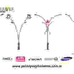 by palmiye aydınlatma Mediterranean Wood-Plastic Composite