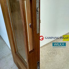 Double-Swing-Door (Pintu Ayun Dua Daun) Gampang Ingat Windows & doors Doorknobs & accessories