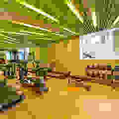 NEF 12 FOLD OFFICE Modern Fitness Odası Ezgi Yüce Mimarlık AŞ. Modern