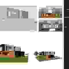 من MOGRAPH INTERHIA ARCHITECTURE CONTAINERS إسكندينافي ألمنيوم/ زنك