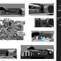 de MOGRAPH INTERHIA ARCHITECTURE CONTAINERS Minimalista Concreto reforzado
