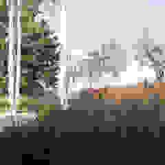 Minimal gestures Andredw van Egmond | designing garden and landscape Minimalist style garage/shed