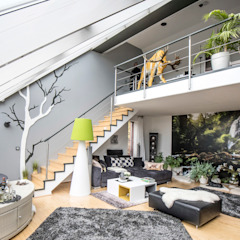 FARBCOMPANY Living room Grey