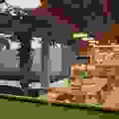 Projeto Casa de Praia LE | (Casa de praia Cabo-Frio - RJ por Gelker Ribeiro Arquitetura | Arquiteto Rio de Janeiro Rústico Madeira Efeito de madeira