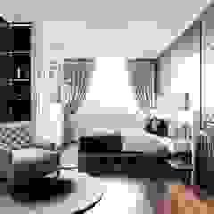Modern style ~ Thiết kế nội thất hiện đại tinh tế từng chi tiết Phòng ngủ phong cách hiện đại bởi ICON INTERIOR Hiện đại