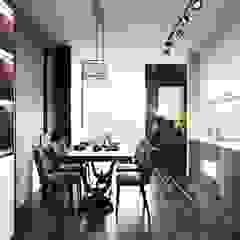 Modern style ~ Thiết kế nội thất hiện đại tinh tế từng chi tiết Phòng ăn phong cách hiện đại bởi ICON INTERIOR Hiện đại