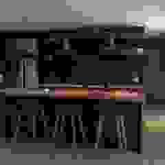 Villa 3 de Gliptica Design Escandinavo Concreto
