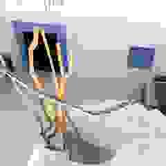 Moradia Sintra 2013 Corredores, halls e escadas ecléticos por Atelier Ana Leonor Rocha Eclético