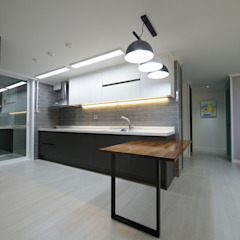 DESIGNCOLORS Modern kitchen Black