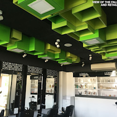 SUPERS SALON Modern clinics by KEYSTONE DESIGN STUDIOS Modern