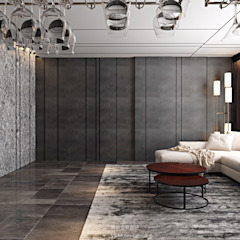 微醺 極品人文宅 根據 維斯空間創研有限公司 現代風 磁磚