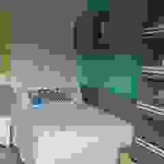 Rita Corrassa - design de interiores Stanza dei bambiniLetti & Culle MDF Turchese