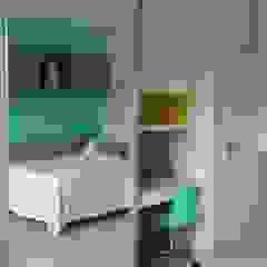Rita Corrassa - design de interiores Stanza dei bambiniArmadi & Cassettiere