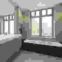Ontwerp nieuwbouw woning Amersfoort Moderne badkamers van Studio DEEVIS Modern Marmer