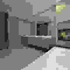 Ontwerp nieuwbouw woning Amersfoort Moderne badkamers van Studio DEEVIS Modern Hout Hout