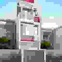 โดย Công ty cổ phần tư vấn kiến trúc xây dựng Nam Long ผสมผสาน คอนกรีต