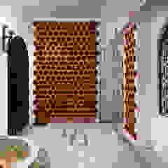 Śródziemnomorska piwnica win od Pedro Brás - Fotógrafo de Interiores e Arquitectura | Hotelaria | Alojamento Local | Imobiliárias Śródziemnomorski Cegły