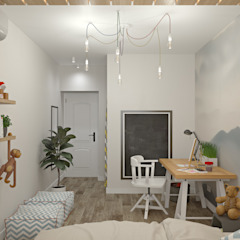 de E.KAZADAEVA. Interior design Industrial