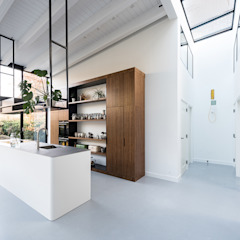 Nieuwendammerdijk Dijkhuis Moderne keukens van Dineke Dijk Architecten Modern