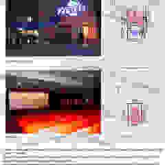 por studio1.architetti Industrial Concreto reforçado
