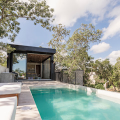 by Obed Clemente Arquitecto Tropical Concrete