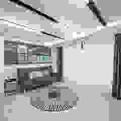 거실 인더스트리얼 거실 by 디자인 아버 인더스트리얼