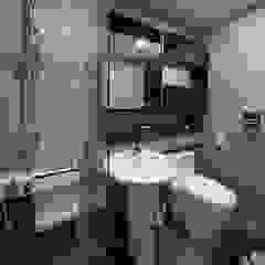 모던 인더스트리얼, 파주 빌라 프로젝트 모던스타일 욕실 by 디자인 아버 모던