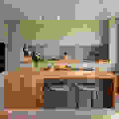 Gallery House Neil Dusheiko Architects Modern kitchen