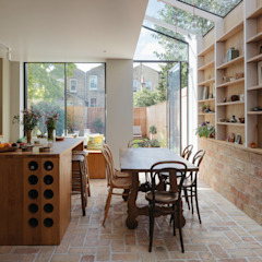 Gallery House Neil Dusheiko Architects Modern dining room