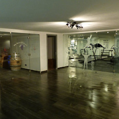 Projection Dreams / CUSTOM CINEMA 360 LDA Ruang Fitness Ubin White