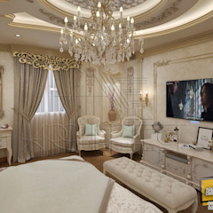 classic Bedroom Piece Of A Villa Project at Saudi Arabia من Archeffect كلاسيكي