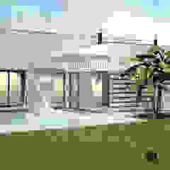 Casa de Chora - Moita por ATELIER OPEN ® - Arquitetura e Engenharia Minimalista Aglomerado