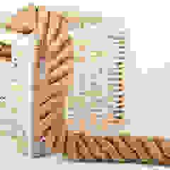 Cordas Decorativas Espaços comerciais rústicos por Cordicastro Rústico