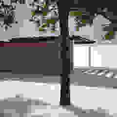 Habitação Unifamiliar com Anexo, Quinta do Perú Garagens e arrecadações modernas por goodmood - Soluções de Habitação Moderno
