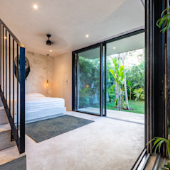 by Obed Clemente Arquitectos Tropical کنکریٹ