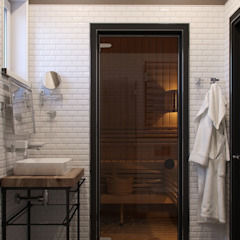 Barkod Interior Design Country style bathroom