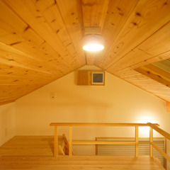 من 一級建築士事務所 ネストデザイン أسيوي خشب Wood effect