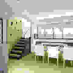 現代風格餐廳設計 現代廚房設計點子、靈感&圖片 根據 有關創意室內設計 現代風