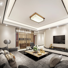 Luxury Solutions Salas de estilo moderno Beige